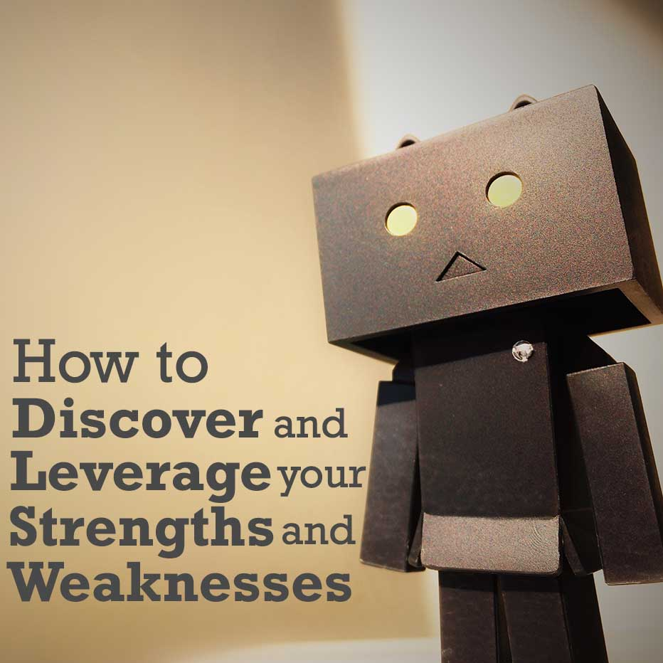 How to Discover and Leverage your Strengths and Weaknessed