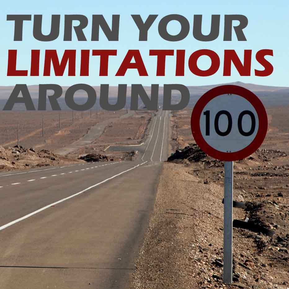 How to Turn your Limitations Into Over Achievement
