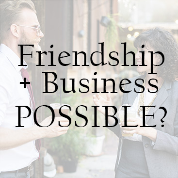 Should You Go Into Business With a Friend