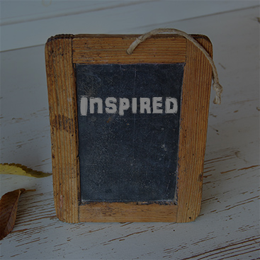 How to be Inspired, and Inspire Others