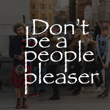 dont be a people pleaser