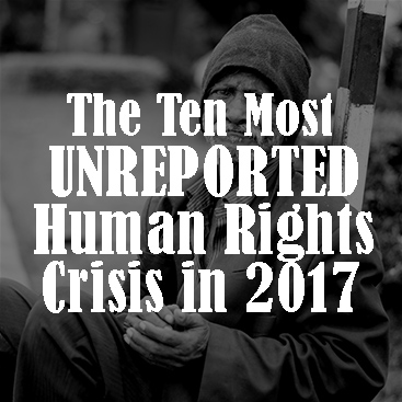 The Ten Most Unreported Human Crises in 2017