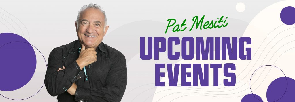 Pat Mesiti Upcoming Events